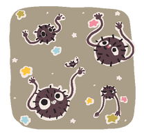 Soot Sprites by pompon-chan