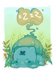 Bulbasaur by pompon-chan