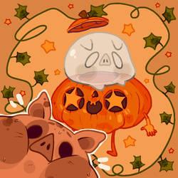 2. Haunted Pumpkin