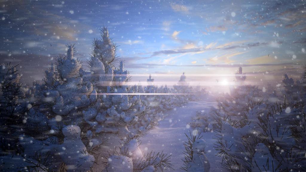 Winter Morning by nicolaykoriagin