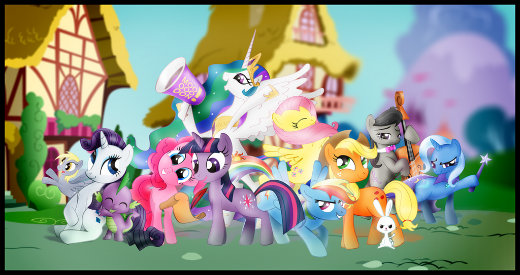 My Little Pony - Poster by nicolaykoriagin