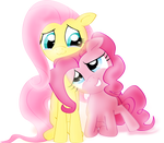 Come On, I`m Here (Fluttershy And Pinkie Pie)