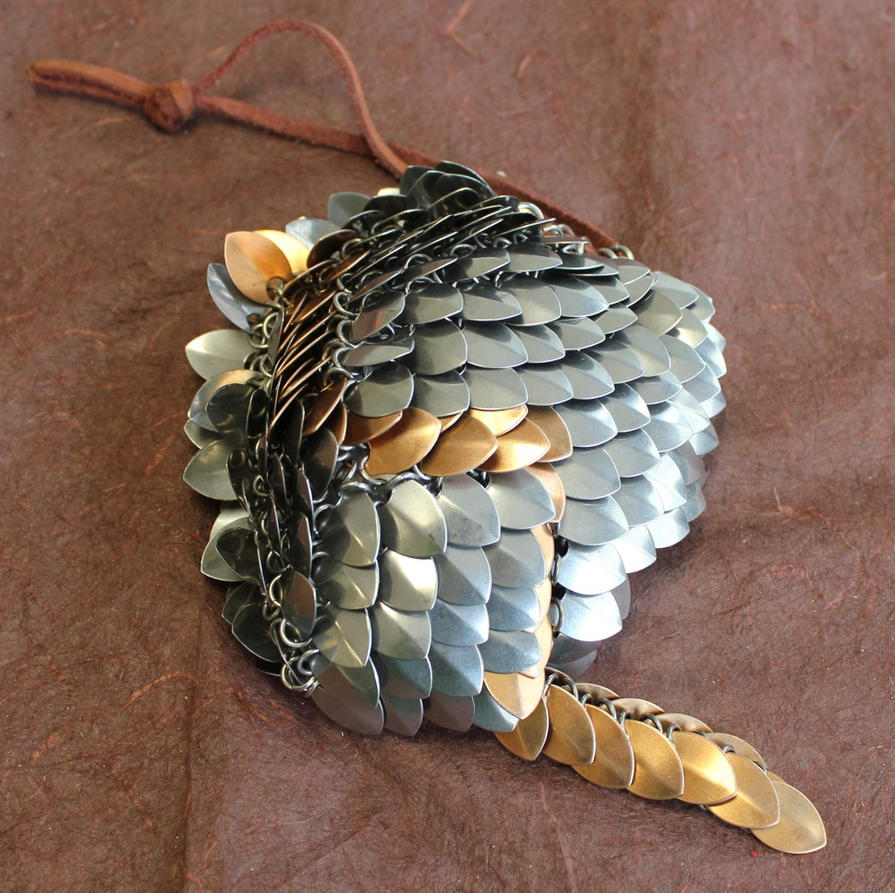 scale mail dice bag by dracoloricatus on deviantart