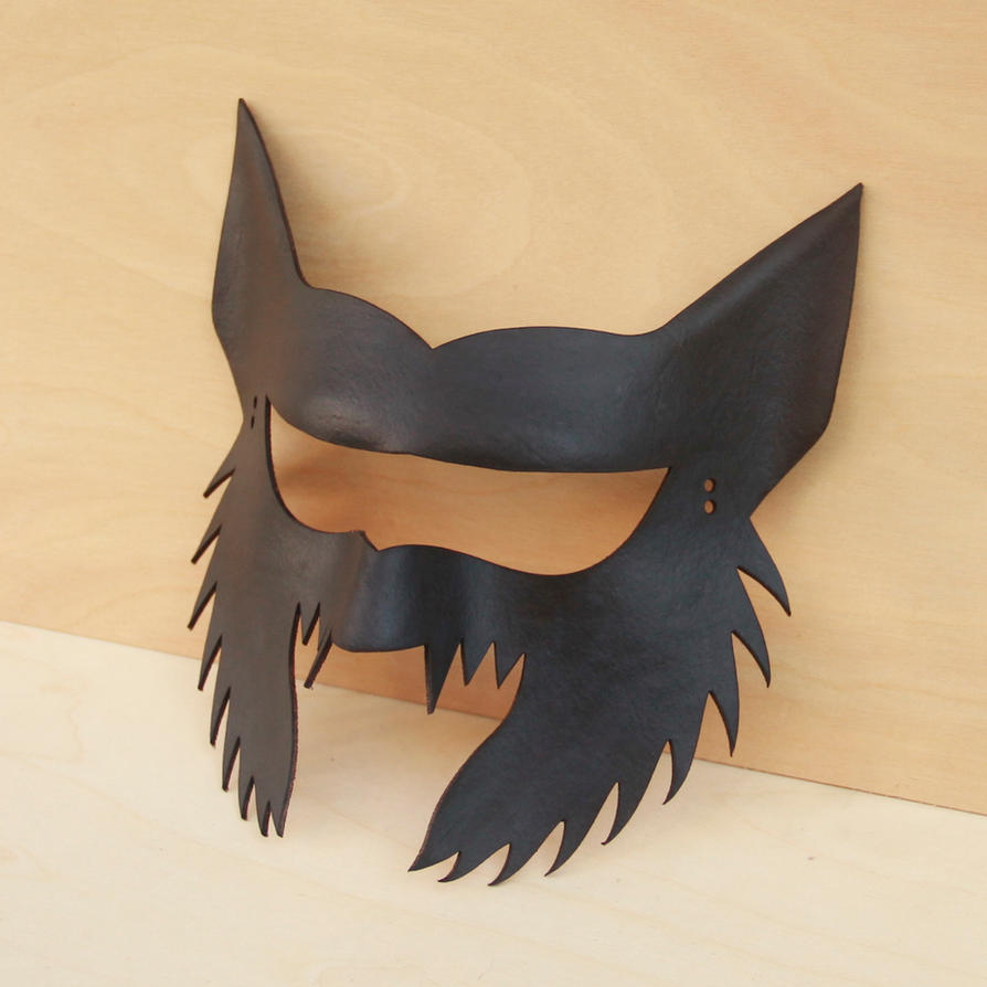 werewolf mask by DracoLoricatus