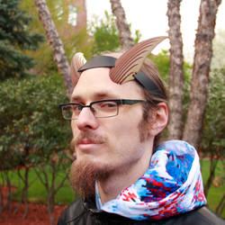 Wooden Dragon Horns