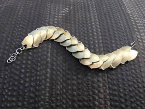 Scale Bracelet - Yellow/Gold