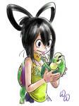 Asui Tsuyu and Frog