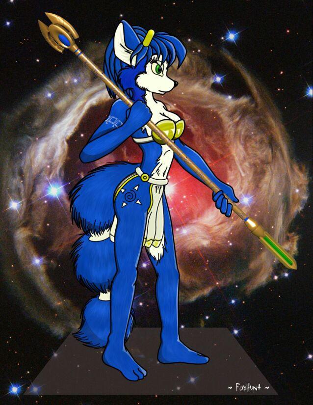 Krystal from StarFox Adventure by CharleyFox