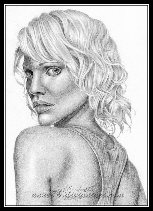 Tricia Helfer/Caprica-Six by Anne86 on DeviantArt