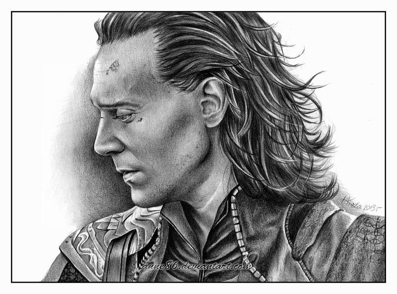 Loki/Tom Hiddleston by Anne86