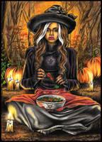 Halloween 2016 - Ritual by Anne86