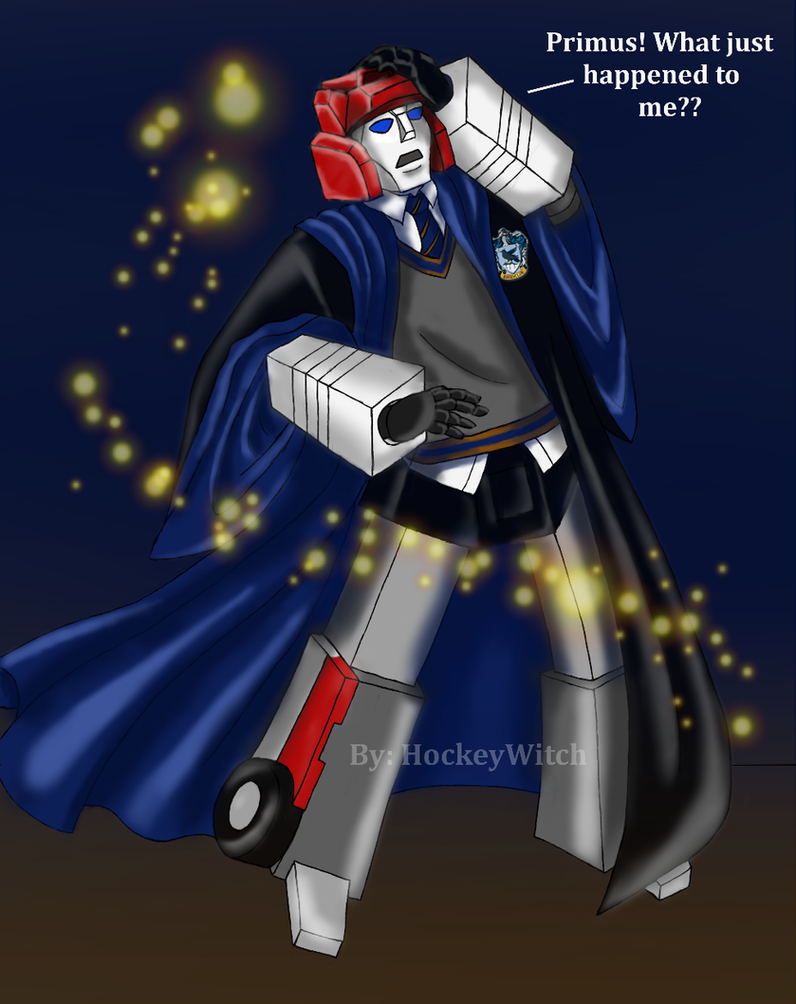 Red Alert In Ravenclaw by HockeyWitch