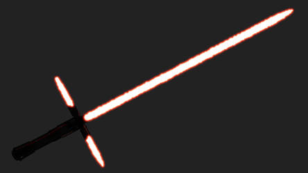 Kylo Ren's Lightsaber by Lithraem