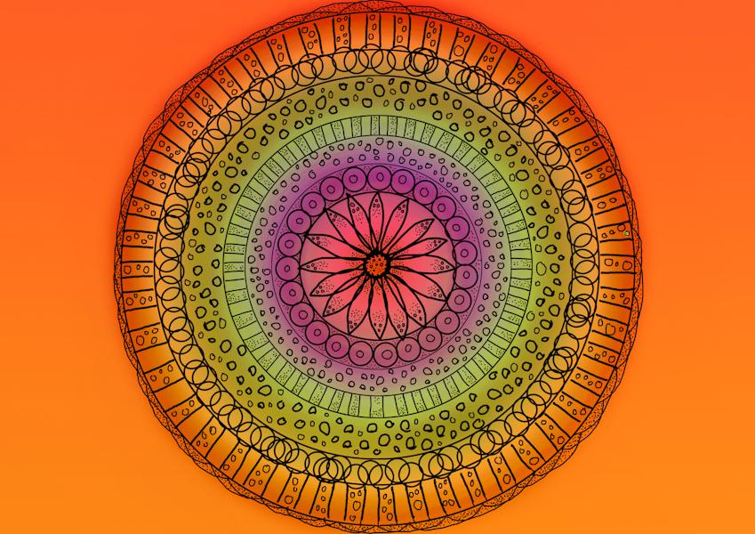 mandala by solis-sacredotibus