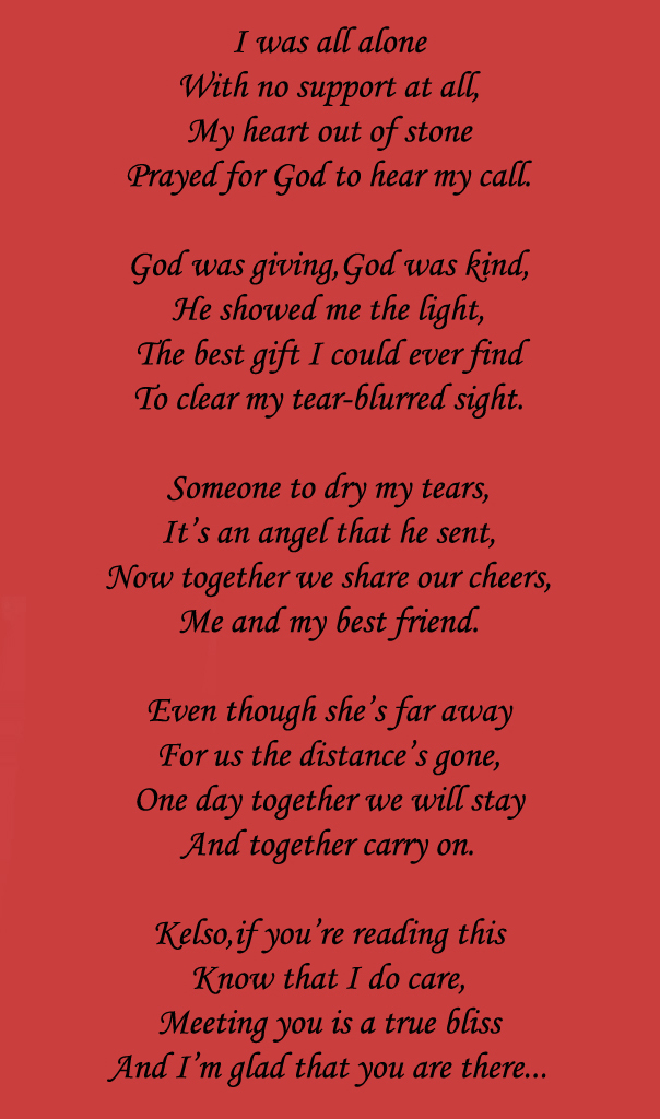 To my lovely friend :3 by Marija343