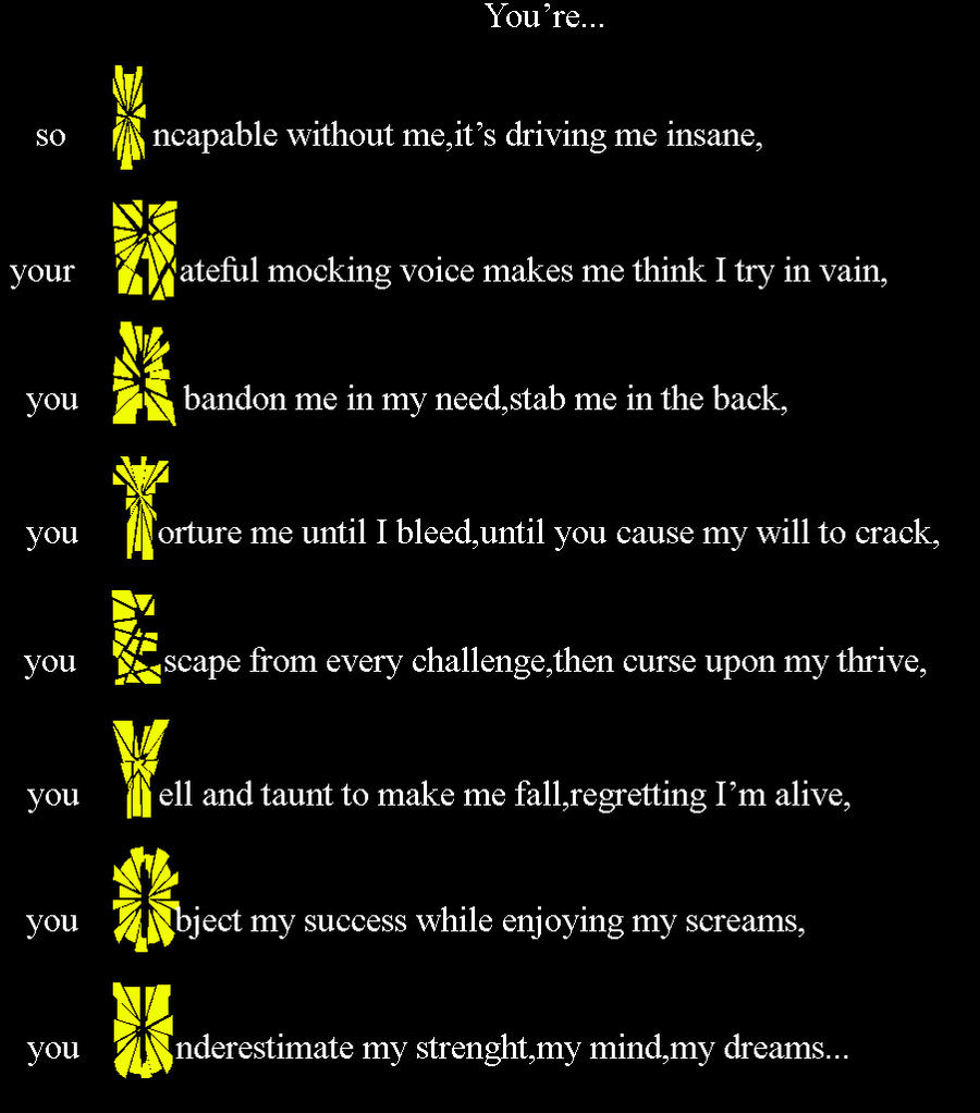 I Hate You Quotes. QuotesGram |I Hate You Poems And Quotes