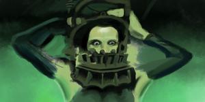 100 masks - #45 Saw Reverse Bear Trap