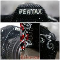 Pentax K-m Swarovski by MadoraWetRat