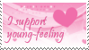 young-feeling stamp by young-feeling