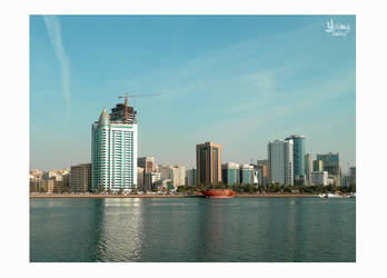 .A View From Sharjah. by young-feeling