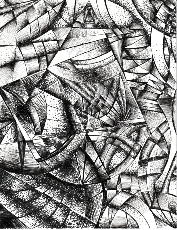 Abstract Line Drawing Artists : Abstract line art by l ghoste on deviantart