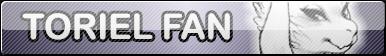 Undertale Toriel fan button by SilverFlame666