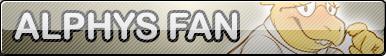 Undertale Alphys fan button by SilverFlame666