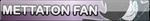 Undertale Mettaton fan button by SilverFlame666