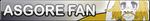 Undertale Asgore fan button by SilverFlame666
