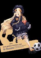 2018 World Football Cup: Abigail by Wakaura