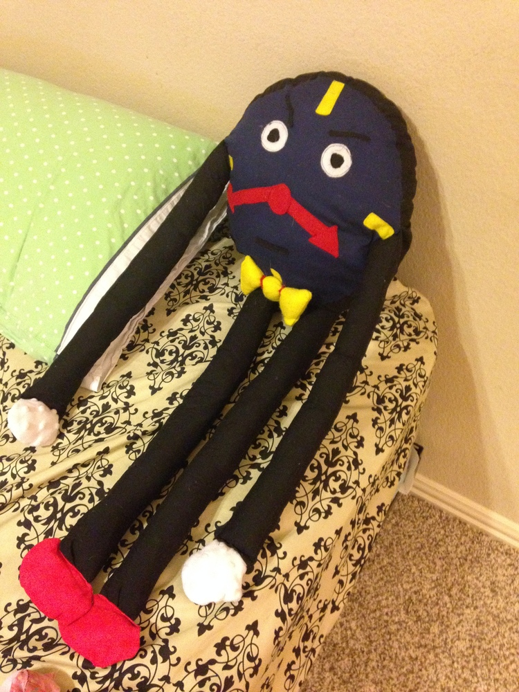 Don T Hug Me I M Scared Clock Plushie By 1chornight On