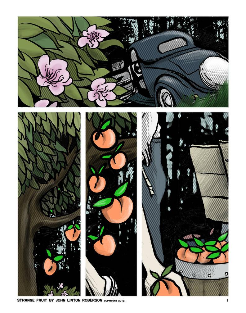 Strange Fruit, p. 1 (2012) by JLRoberson
