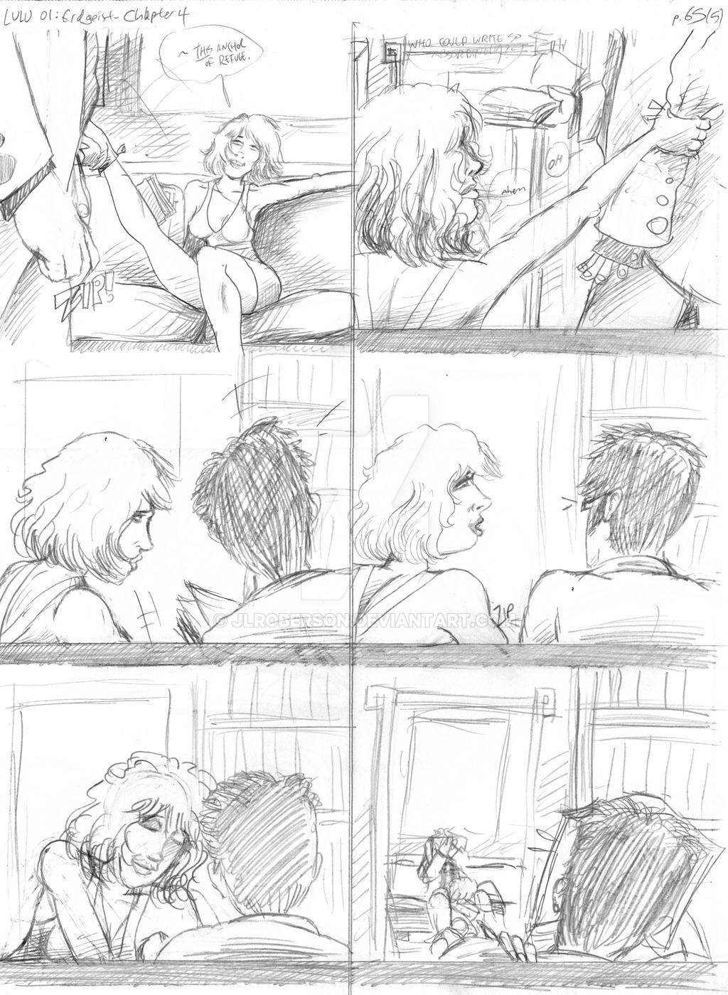LULU Book 2 - Chapter 4 p. 65 Pencil