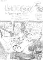 Uncle Cyrus - story 3 pg 1 Pencils by JLRoberson