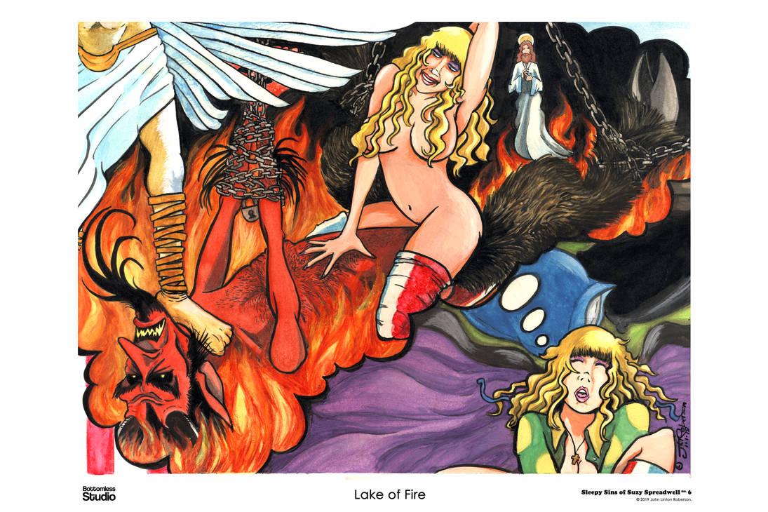 Sleepy Sins of Suzy Spreadwell 6 - Lake of Fire by JLRoberson