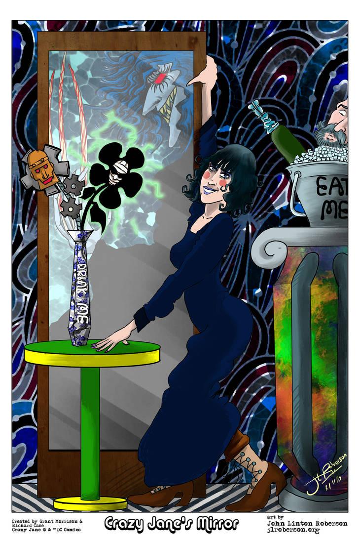 Crazy Jane's Mirror by JLRoberson