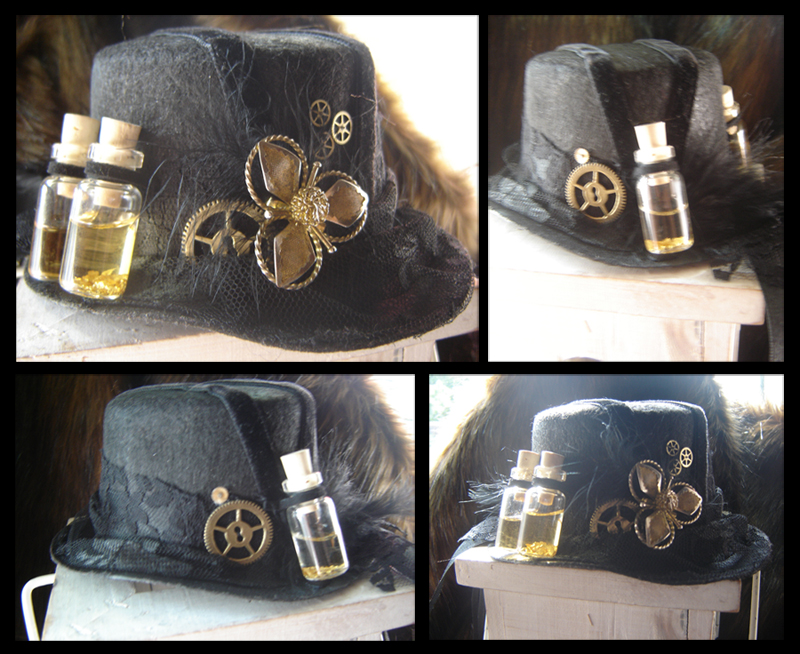Steampunk hat by LoneSpiritWolf