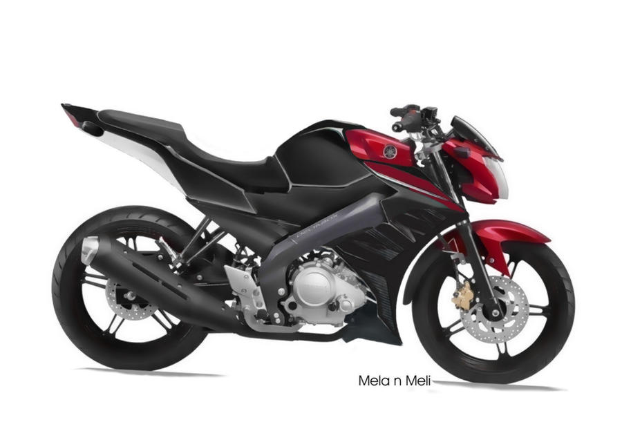 Modifikasi New Vixion Black Red Yamaha Id 2013 By