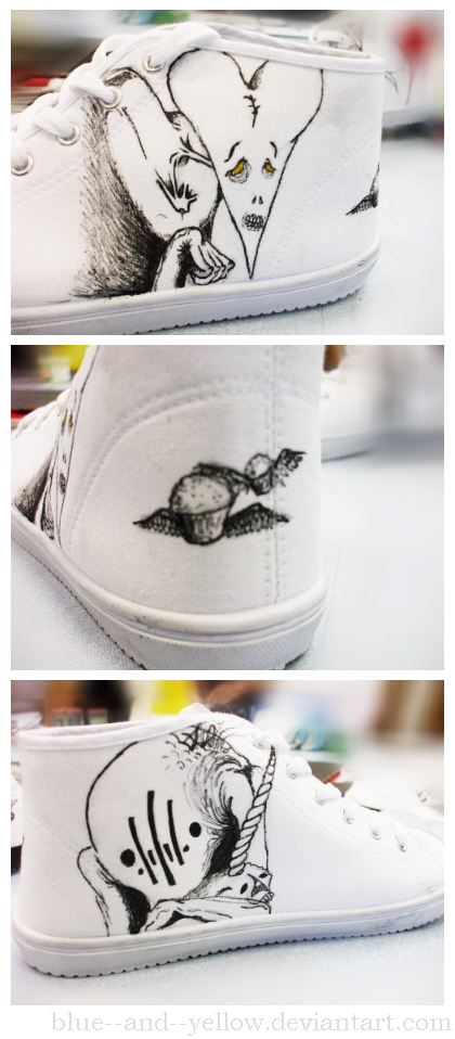 the used alex pardee shoes l by blue and yellow on deviantart. Black Bedroom Furniture Sets. Home Design Ideas