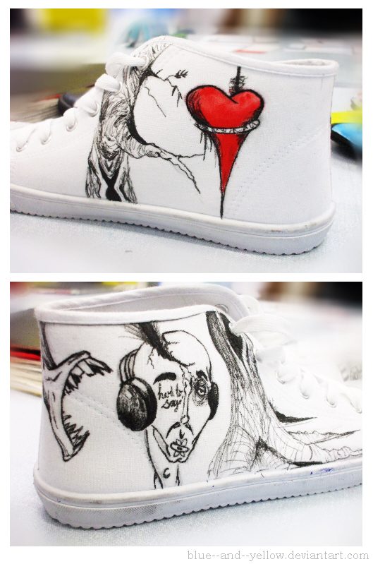 the used alex pardee shoes r by blue and yellow on deviantart. Black Bedroom Furniture Sets. Home Design Ideas
