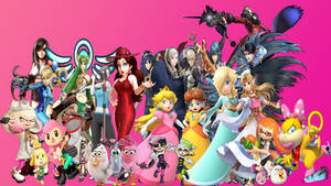 Female Video Game Characters 1