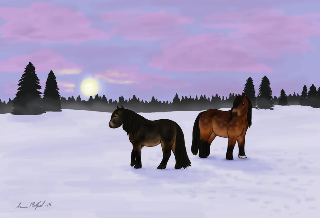 En vintersaga by Helsinge