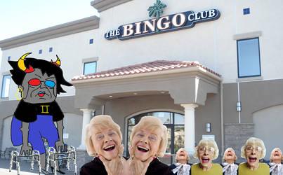 Sollux and the Bingo Parlor by SunshineBeamNeko