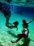 Mermaids play