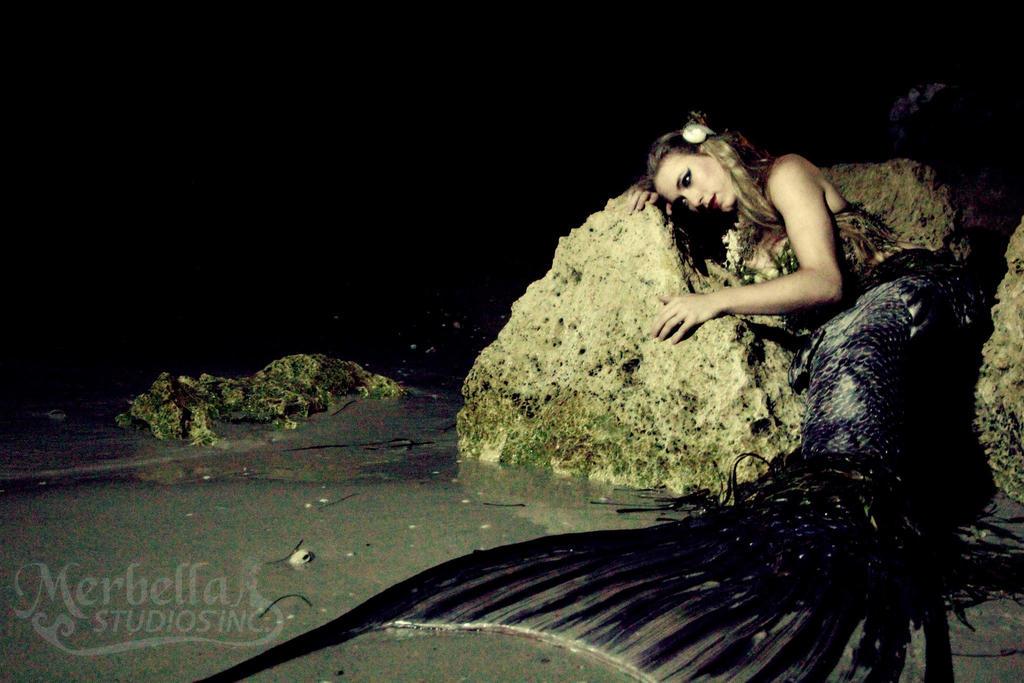 Dark Mermaid Art Dark Mermaid by MerBel...