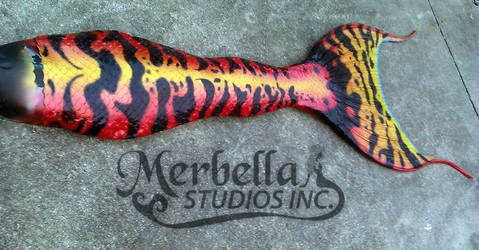 Custom Silicone Mermaid Tail by MerBellas