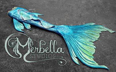 Lunar Inspired Mermaid Tail by MerBellas