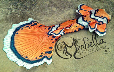 Clown Fish Mermaid Tail by MerBellas