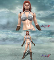 Soulcalibur V Red Sonja by Josh-84