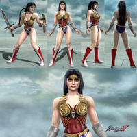 Soulcalibur V Wonder Woman by Josh-84